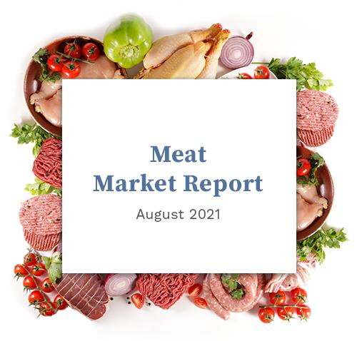 Meat Market Report - August 2021