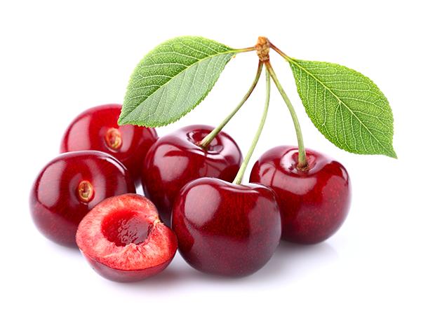 Menu Fresh cherries