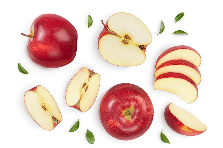 Menu Fresh apples