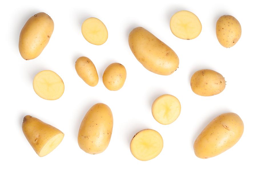 Menu Fresh potatoes